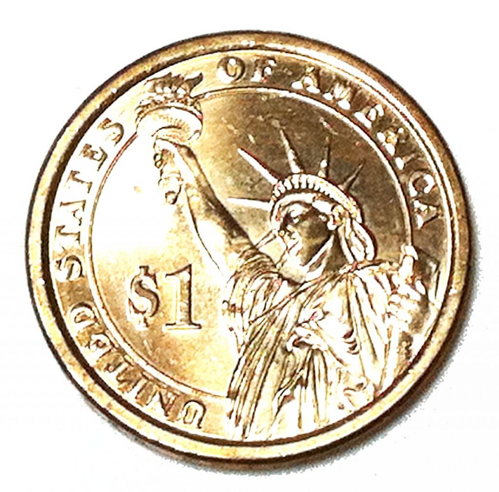 Dollar coin