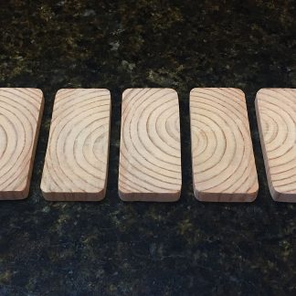 "ActionCraftworks.com 3-1/2"" x 1-1/2"" x 3/8"" Fir dominoes top"