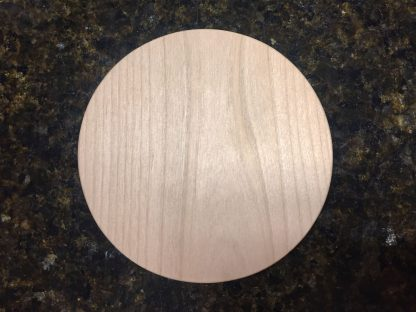 "ActionCraftworks.com Alder Circle 3/4"" top"