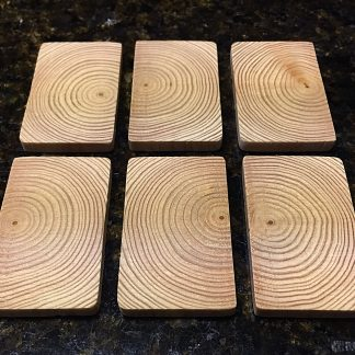 "ActionCraftworks.com 2-1/2"" x 1-1/2"" x 1/4"" Fir dominoes top"