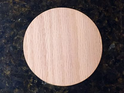 "ActionCraftworks.com Oak Circle 1/4"" top"