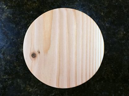 "ActionCraftworks.com 1-1/2"" thick Fir circles top"