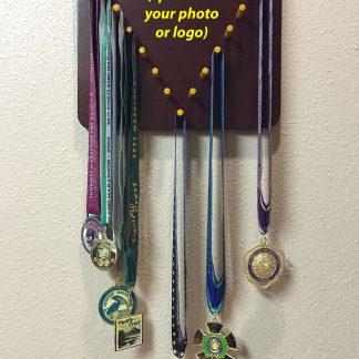 ActionCraftworks.com V shape sports medal display front