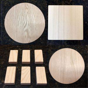 ActionCraftworks.com wood shapes composite