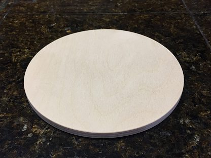 "ActionCraftworks.com Baltic Birch Plywood Circle 3/8"" angle"