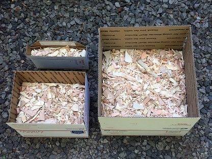 ActionCraftworks.com Wood chips 3 boxes