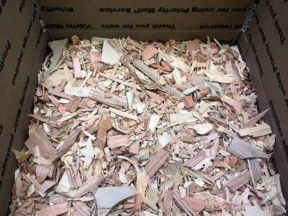 ActionCraftworks.com Wood chips angle view