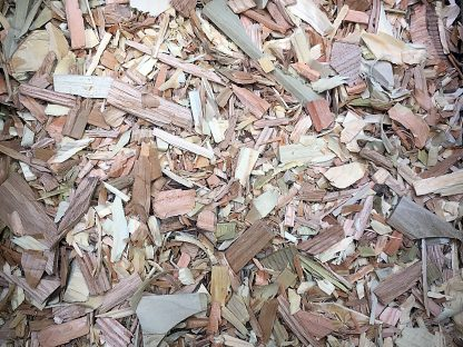 ActionCraftworks.com Wood chips top view