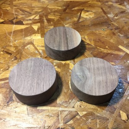 ActionCraftworks.com 3.5 x 1.5 Walnut with 1 deep recess routing bottom square